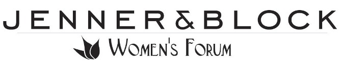 [image - Jenner and Block Women's Forum Logo]