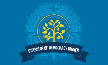 [image - Guardian Of Democracy Dinner 2015 logo]