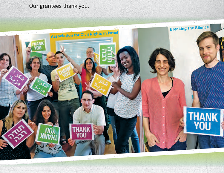 Our grantees thank you.