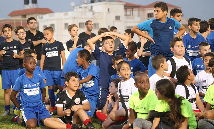 Kick it Out Israel soccer photo