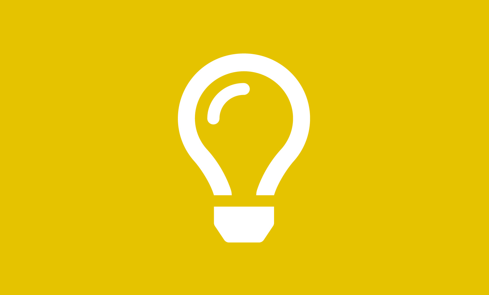 NIF's Big Ideas Series 2019 - Lightbulb icon