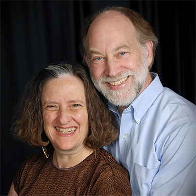 Rabbi Amy Eilberg and Louis Newman photo