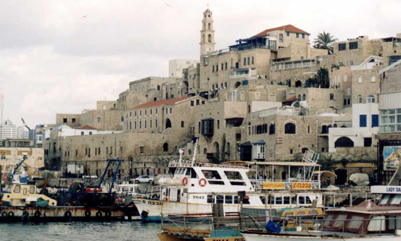 photo of the port of Jaffa