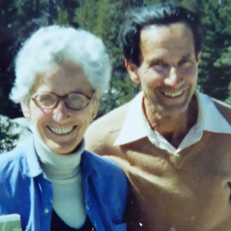 "photo of Elsa and Max Weissenberg z""l"
